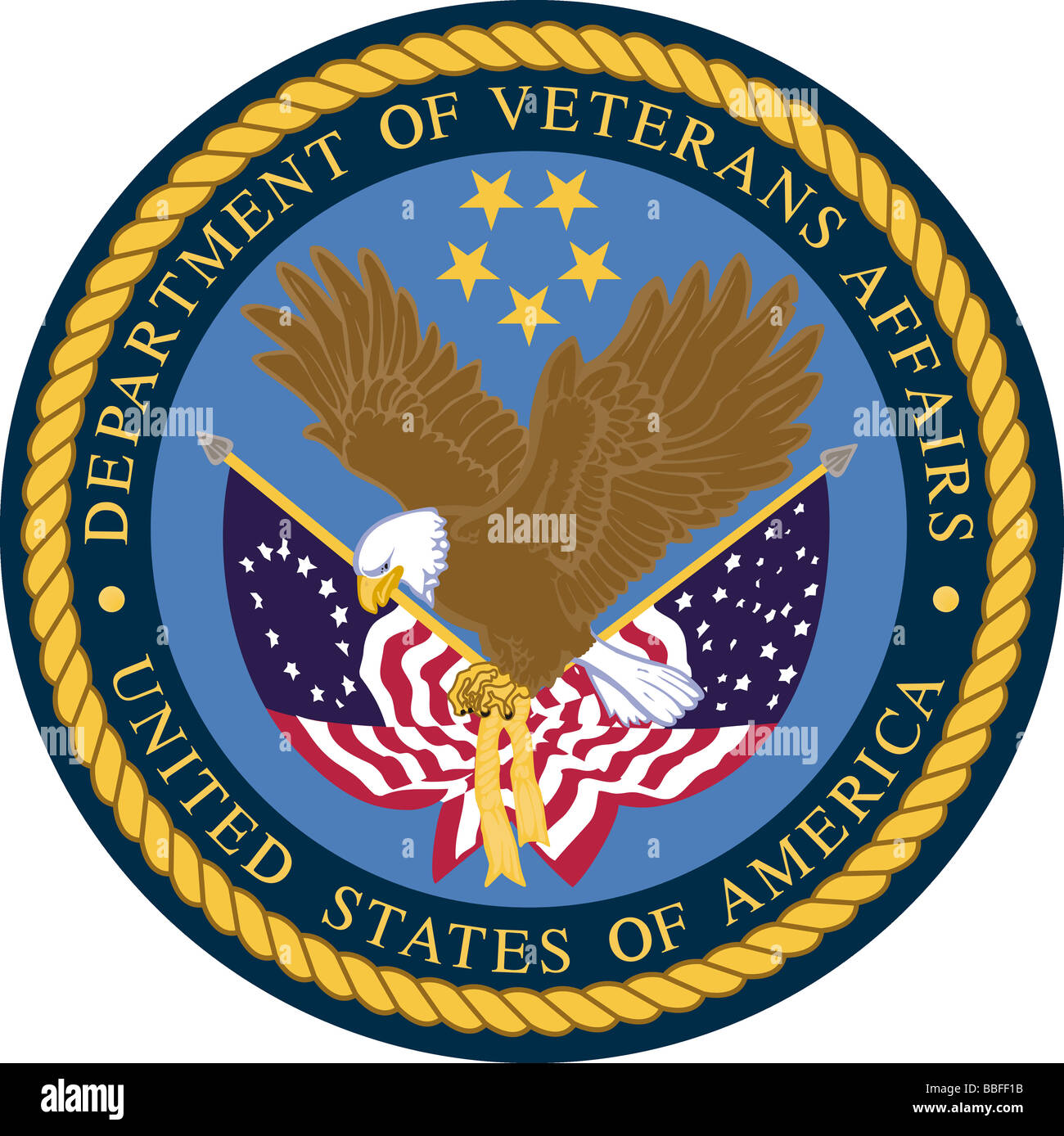 official crest for the united states department of veterans affairs