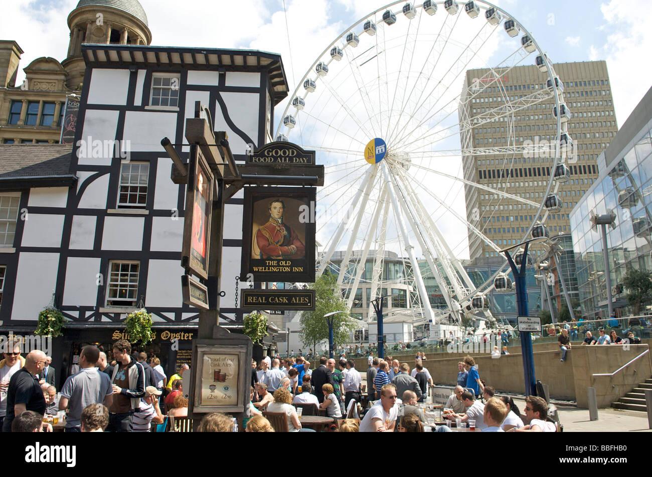 Manchester City Centre Stock Photo
