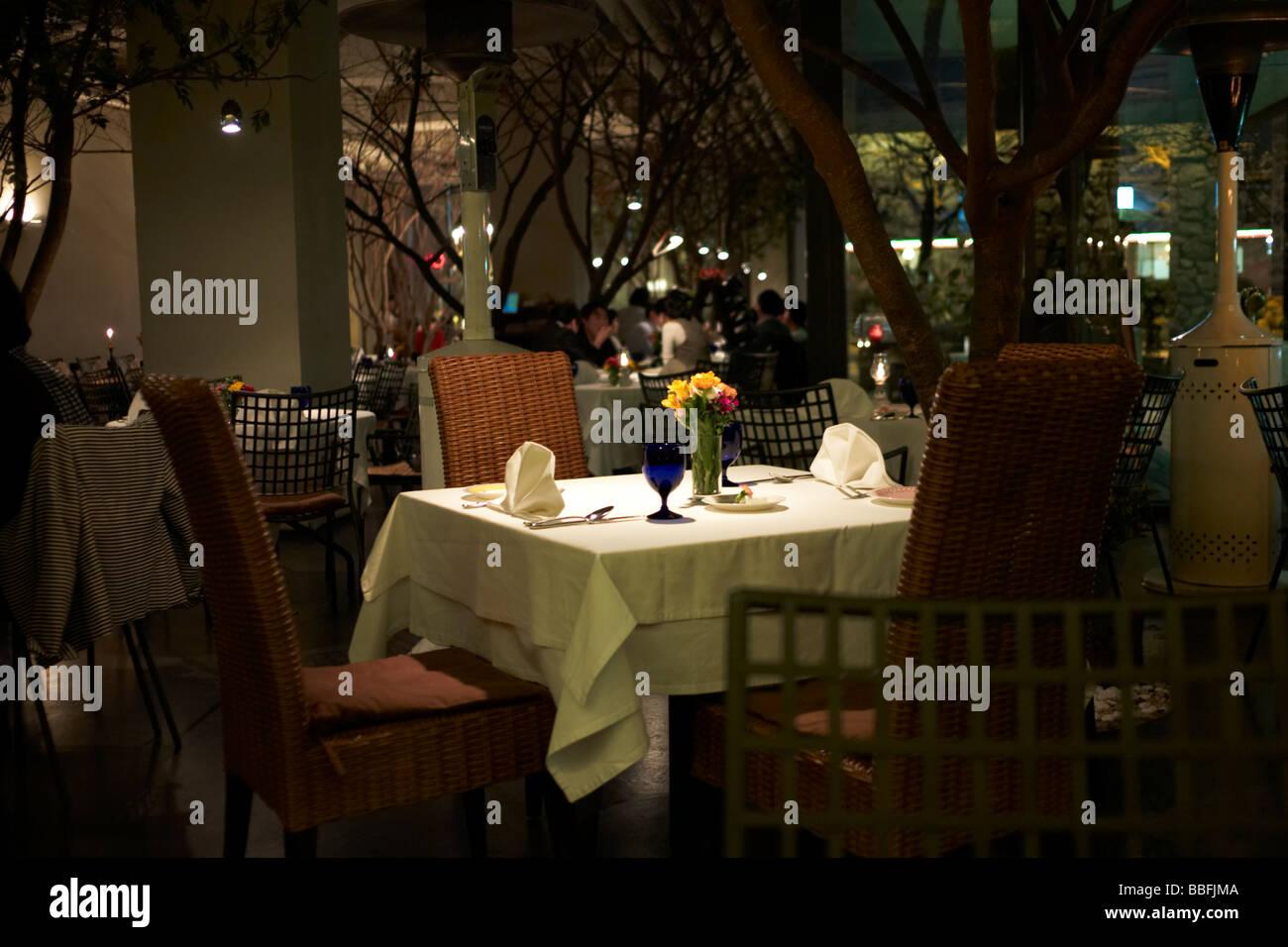 Cozy Italian restaurant in Seocho distric Seoul, South Korea - Stock Image