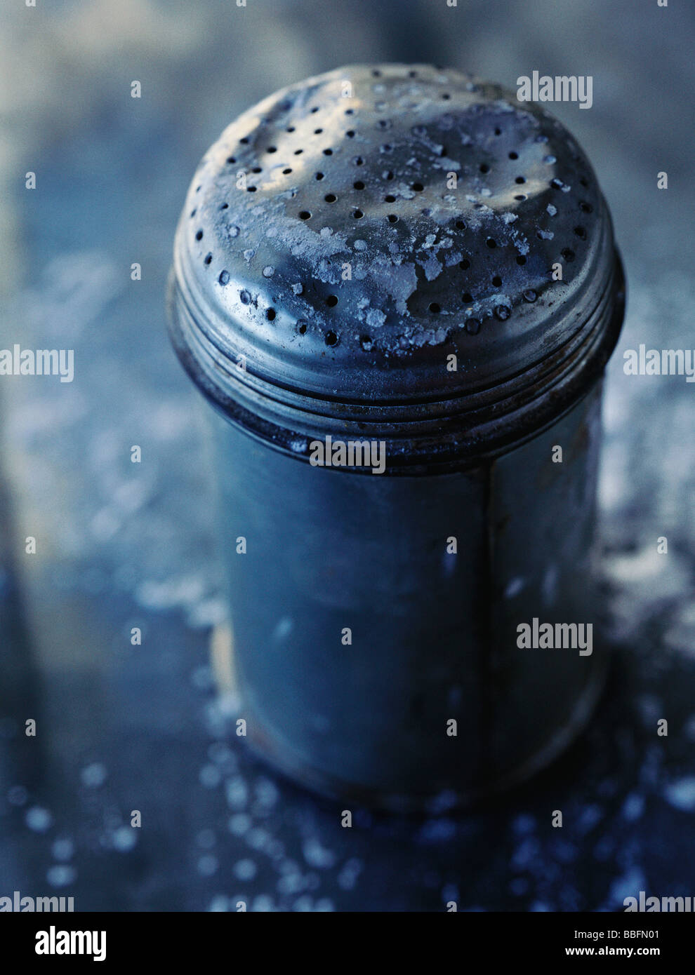Powdered sugar shaker - Stock Image