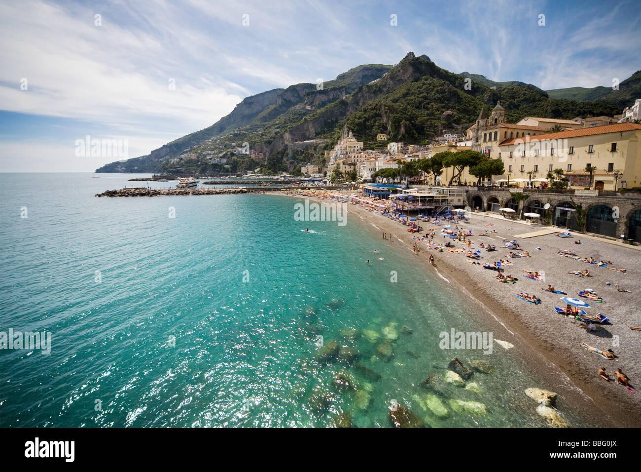 Amalfi coast - Stock Image
