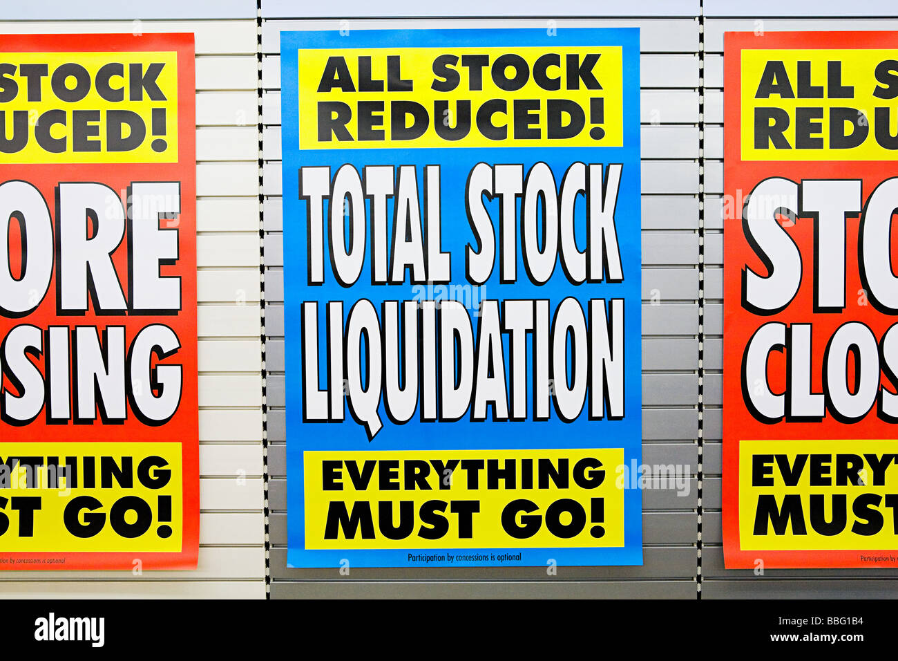 Sale signs - Stock Image