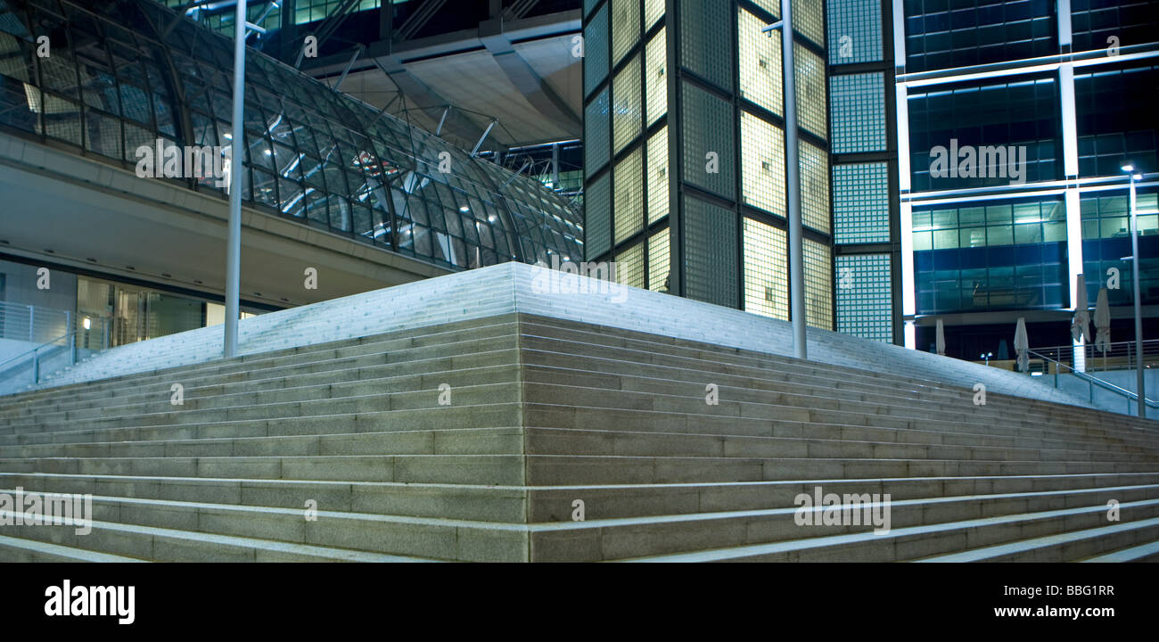 Berlin central railway station - Stock Image