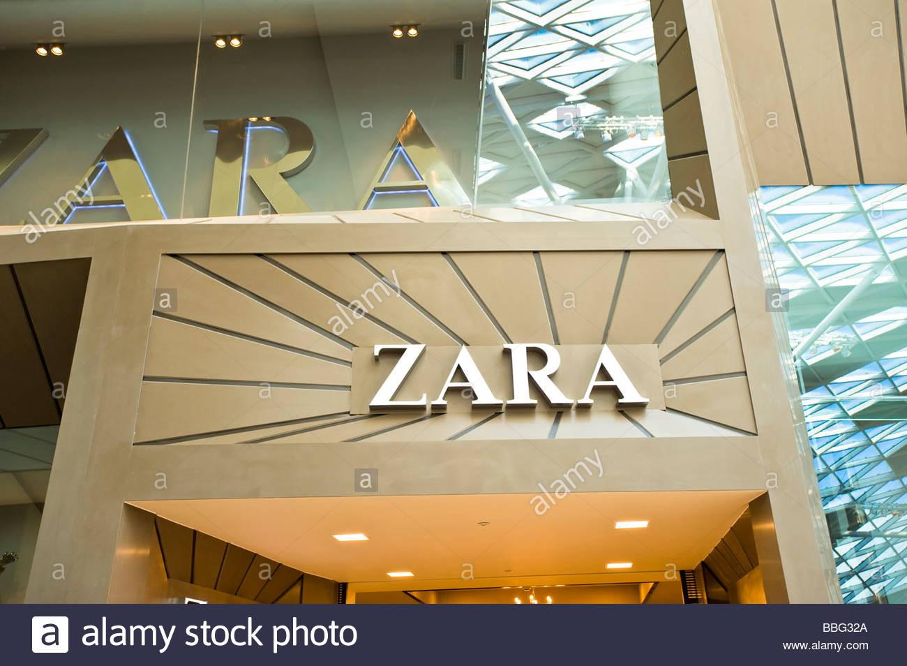 Zara, Westfield Shopping Centre, White City Development - Stock Image