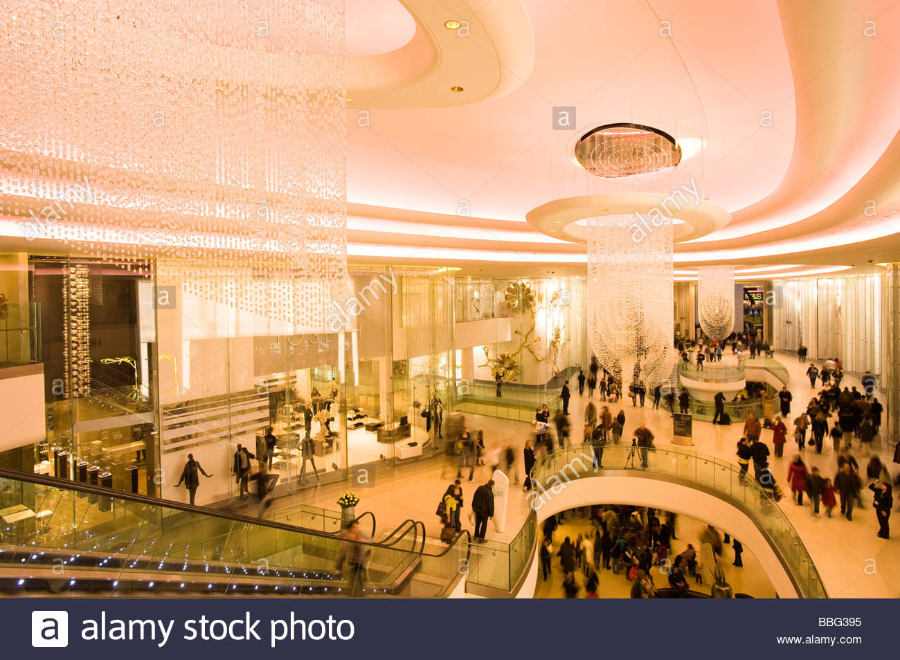 Westfield Shopping Centre, White City Development - Stock Image