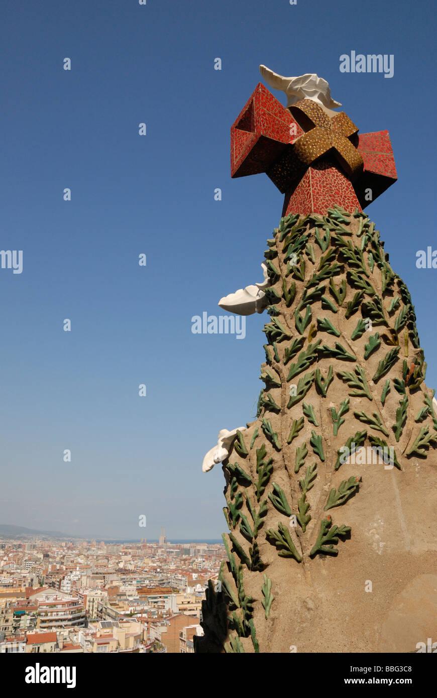 Segrada Familiar, Barcelona spain - Stock Image