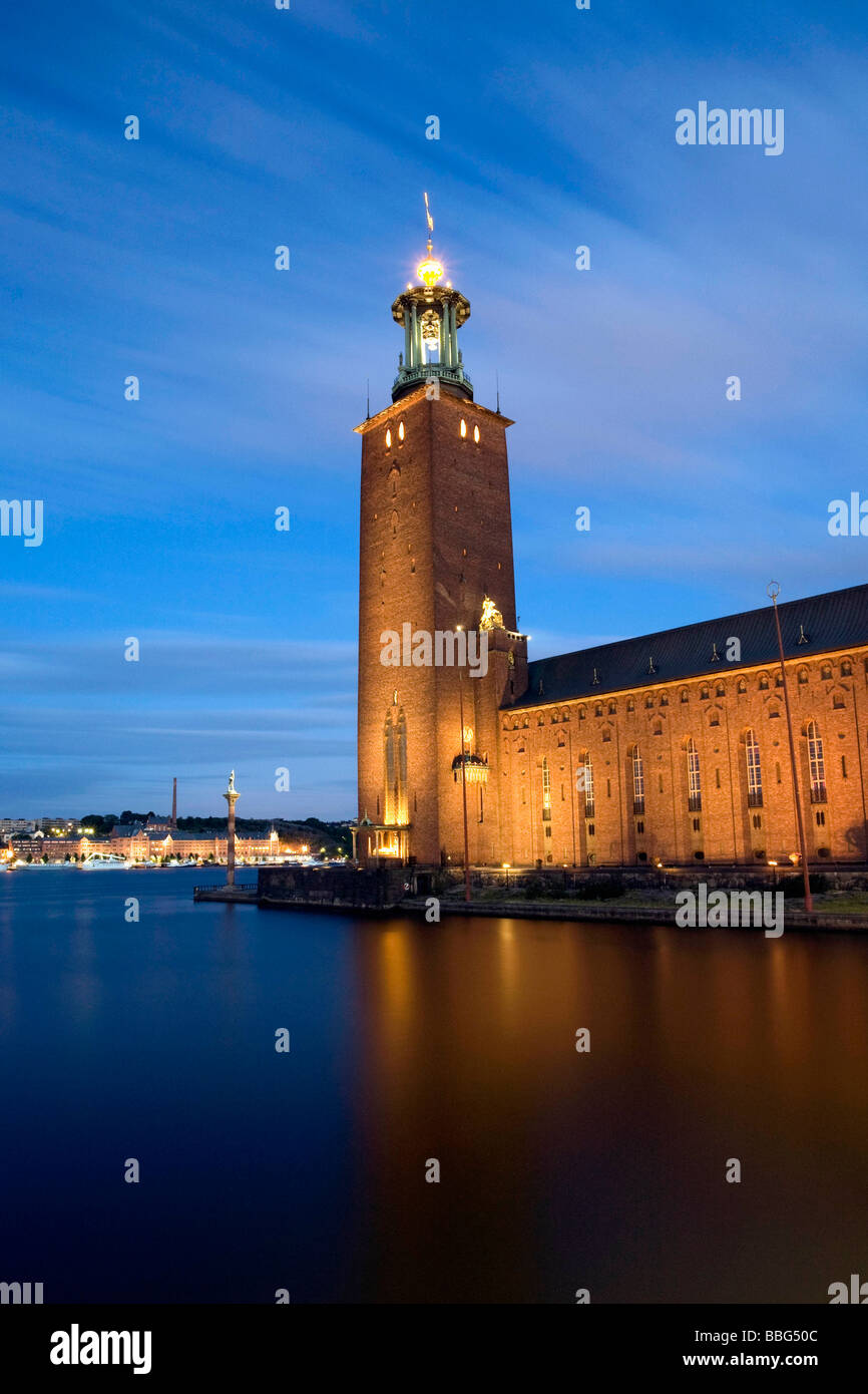 City Hall in Stockholm Stock Photo