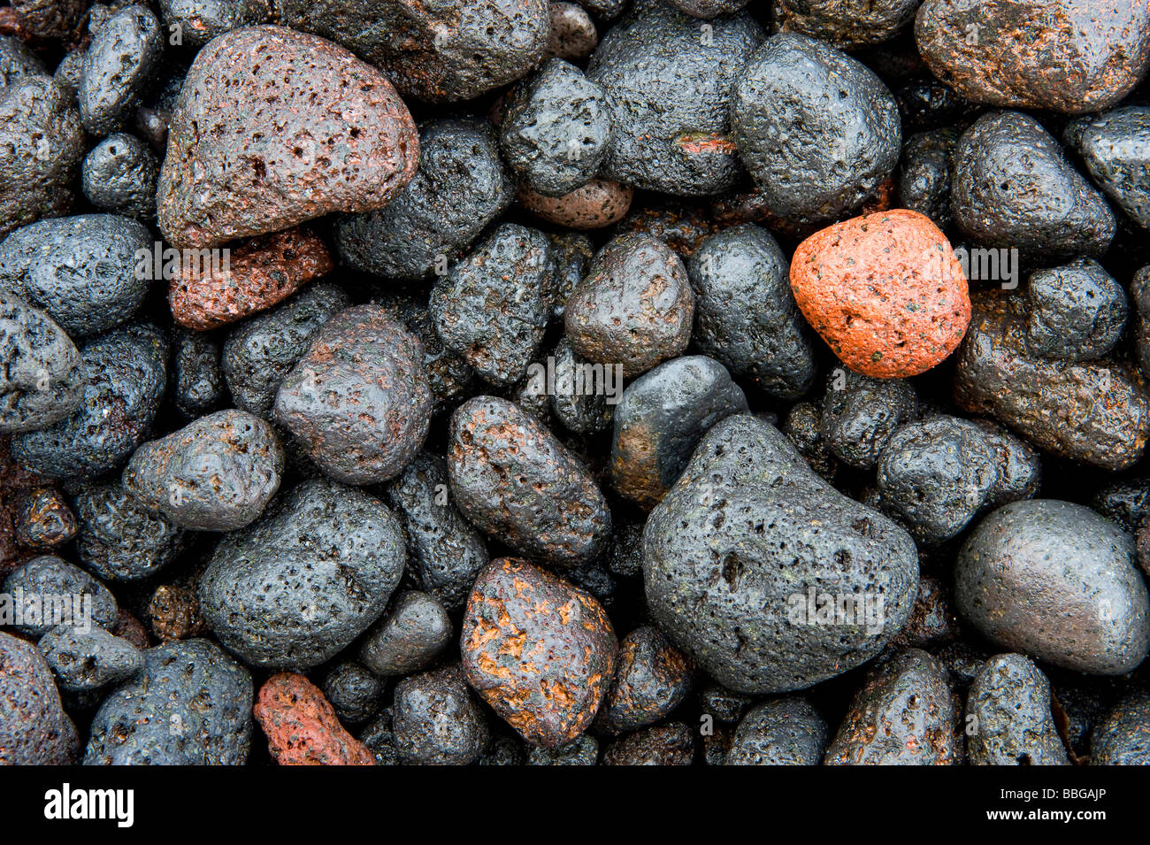pumice stones, Italy, Stromboli, Liparic Islands - Stock Image