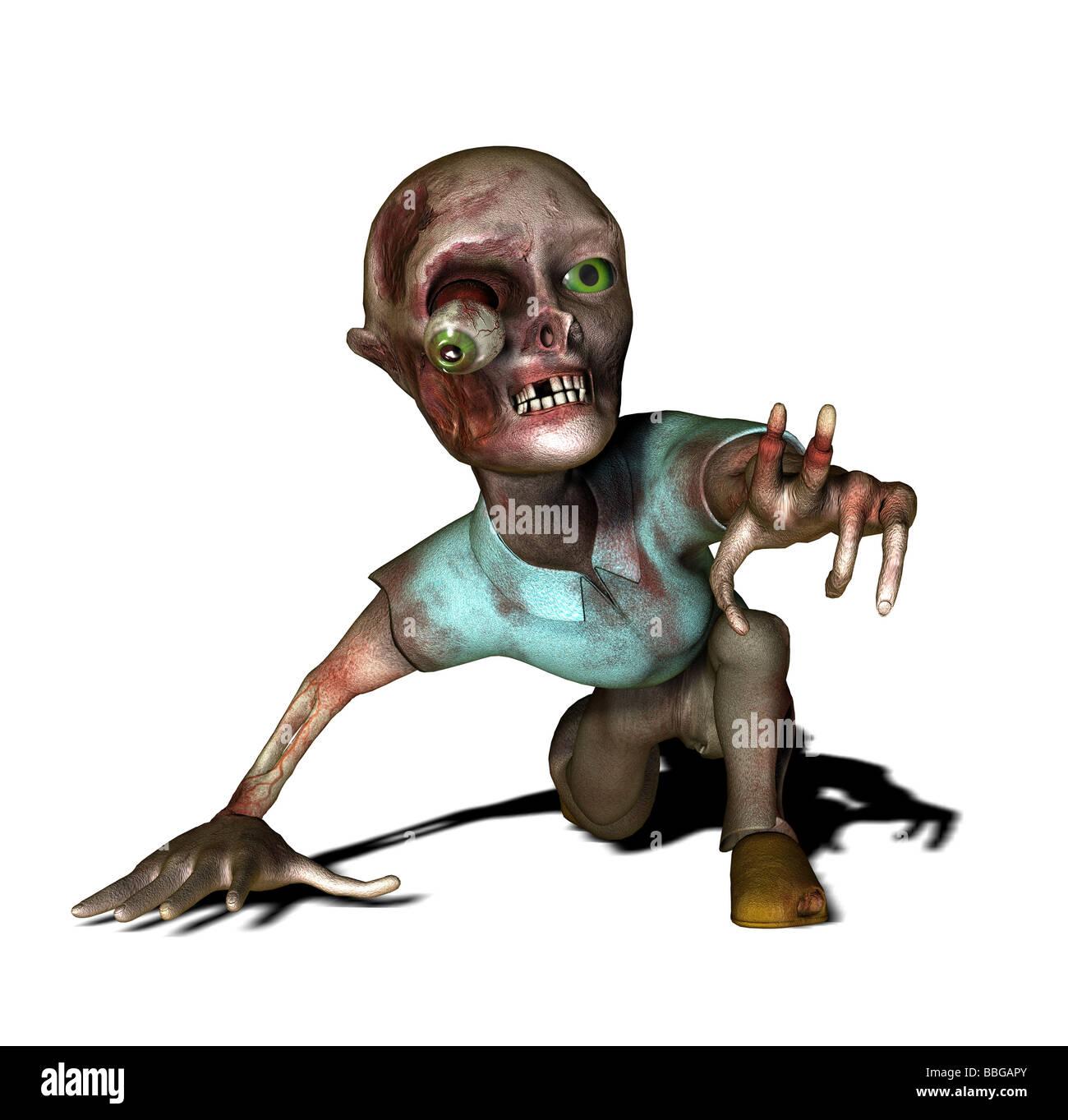 Zombie - Stock Image