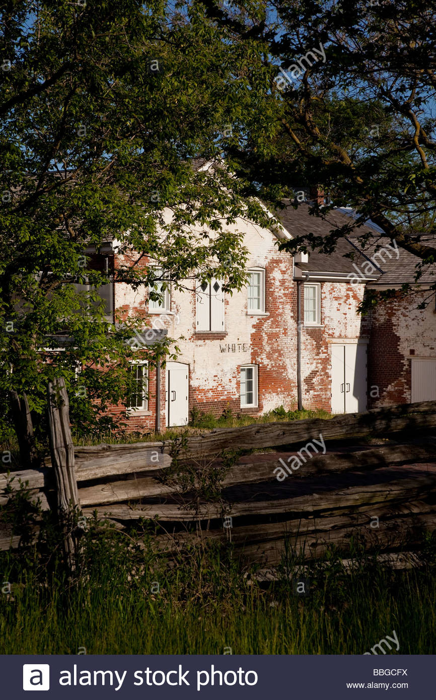 Todmorden Mills Heritage Museum and Arts Centre in Toronto Ontario Canada - Stock Image