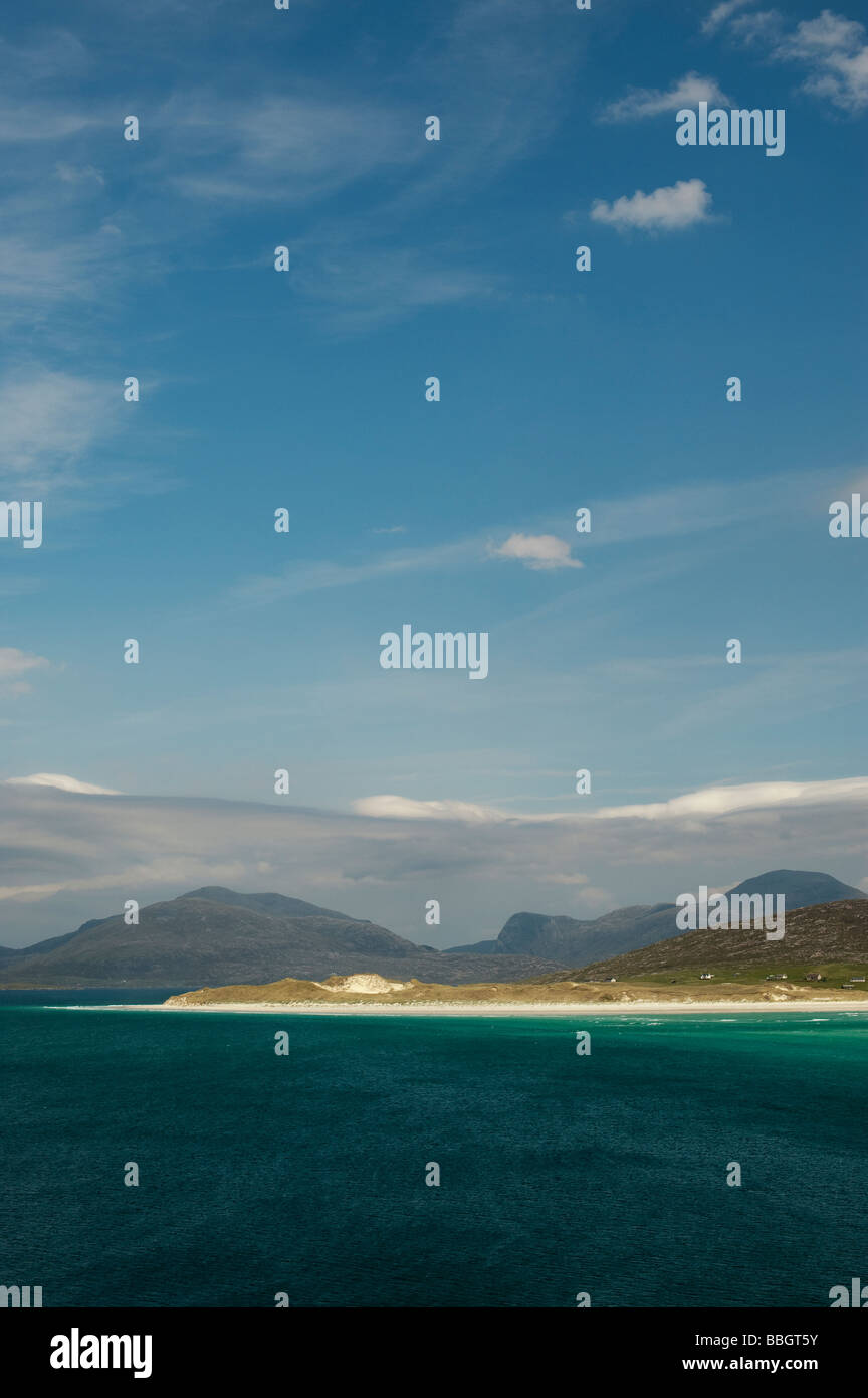 Seilebost beach, Isle of Harris, Outer Hebrides, Scotland - Stock Image
