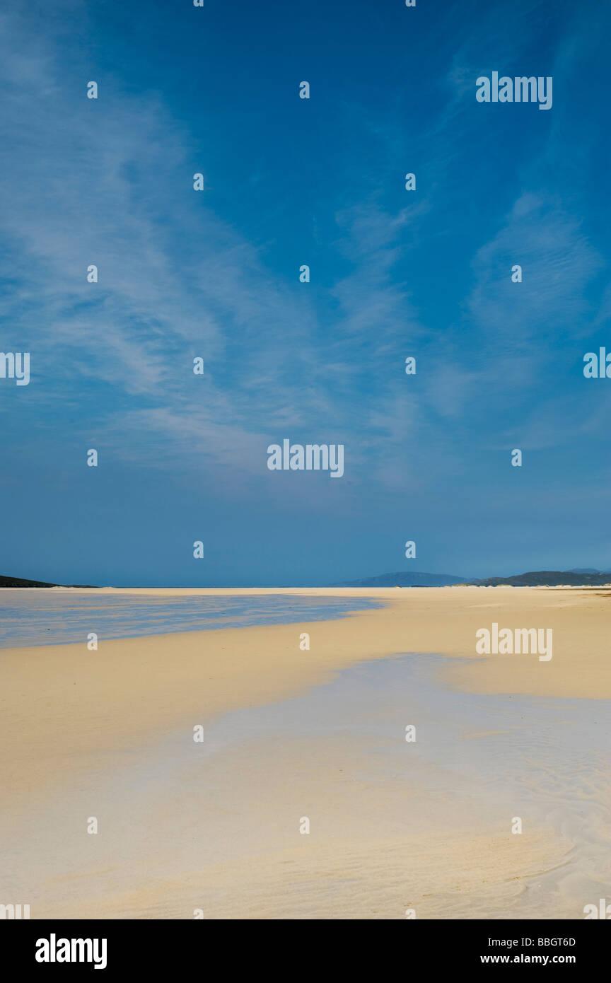 Traigh Scarista beach, Isle of Harris. Outer Hebrides, Scotland - Stock Image