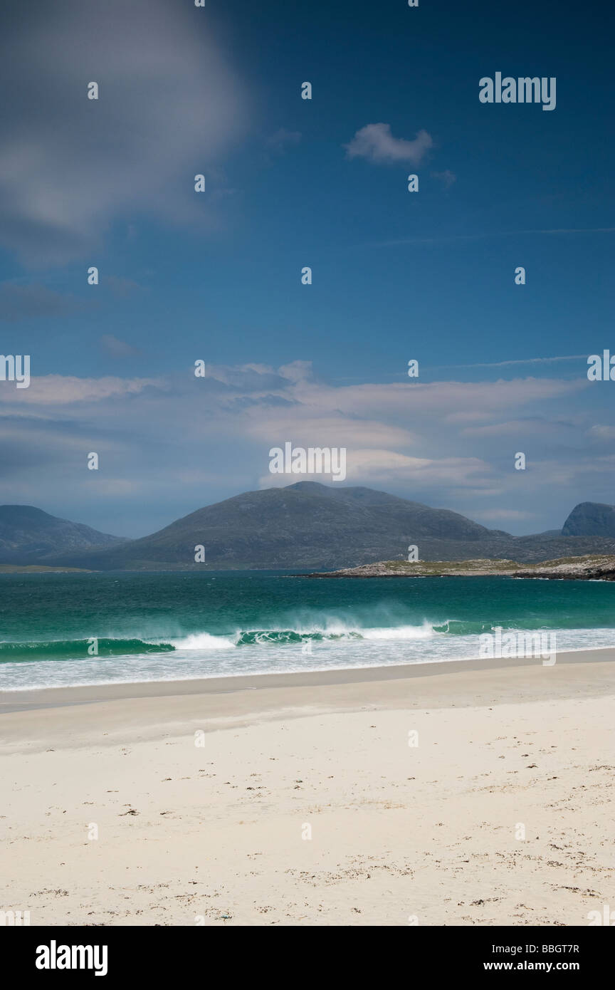 South Harris, Western coastline beaches, Outer Hebrides, Scotland - Stock Image