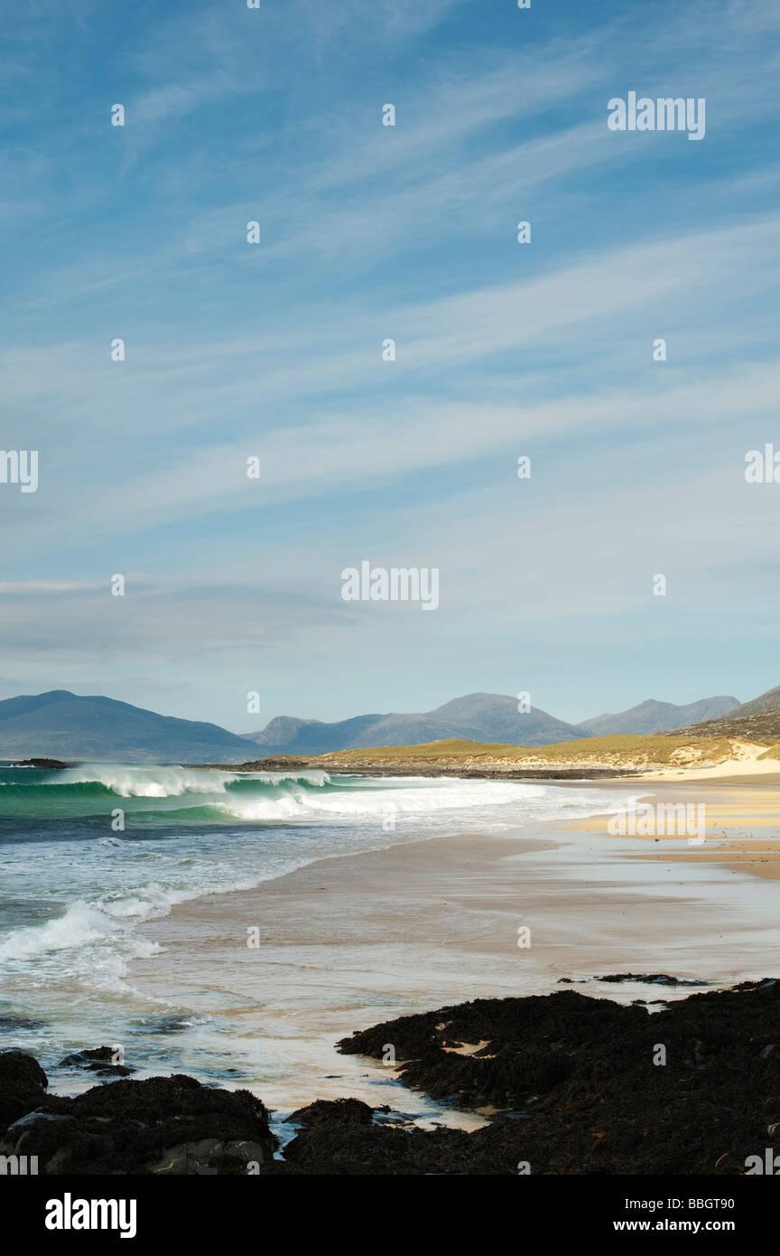 Traigh Lar beach, Isle of Harris, Outer Hebrides, Scotland - Stock Image