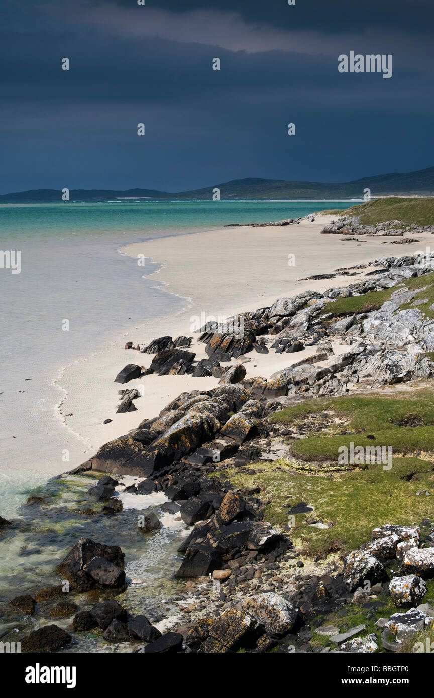 Traigh Lar , South Harris, Outer Hebrides, Scotland - Stock Image