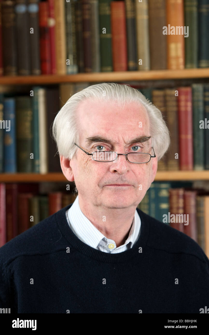 Professor Hugh Pennington, professor of Bacteriology formerly of the University of Aberdeen, Scotland, UK - Stock Image