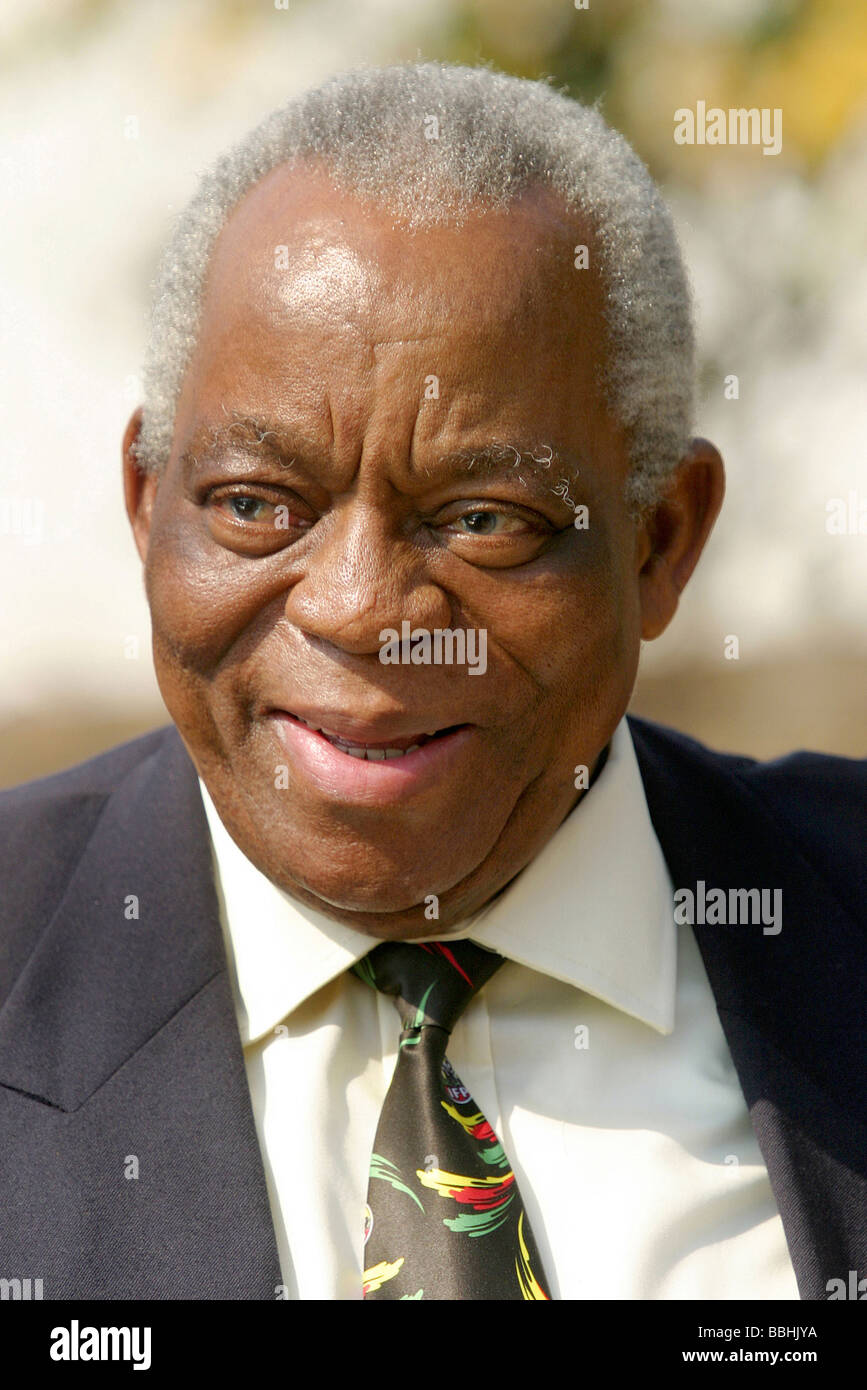 Senior Inkatha Freedom Party IFP leader and member of the Zulu Royal House Price Gideon Zulu passed on the 16 May - Stock Image