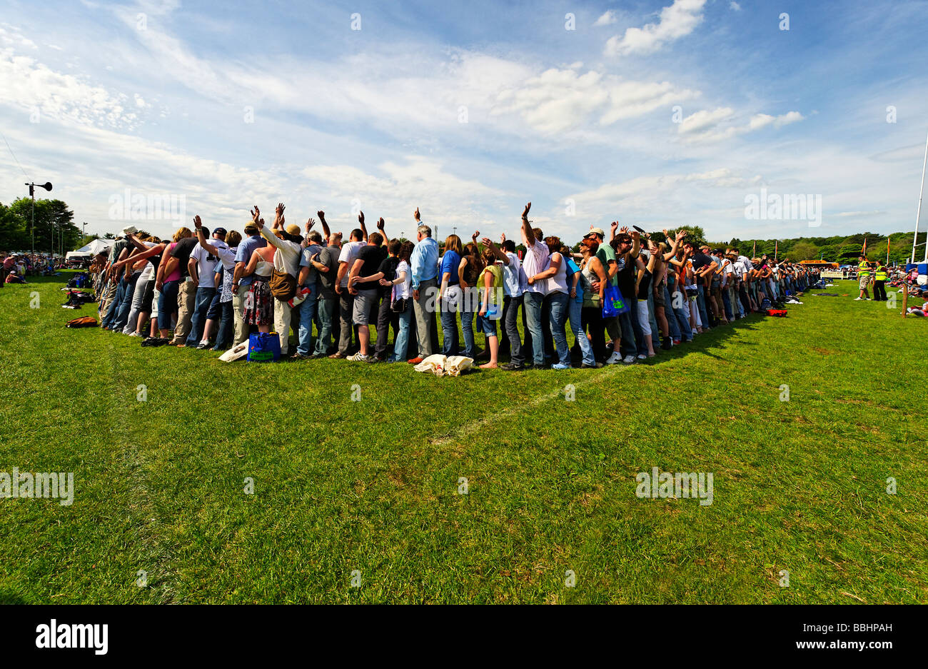 Record Breaking Event at Northumberland County Show May 2009 - Stock Image