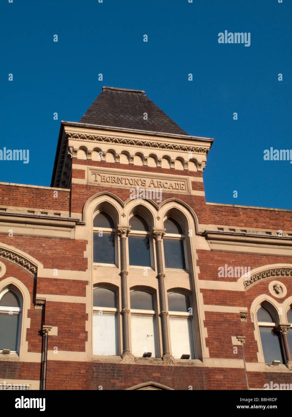 Thorntons Arcade, Leeds, Yorkshire, England, UK - Stock Image