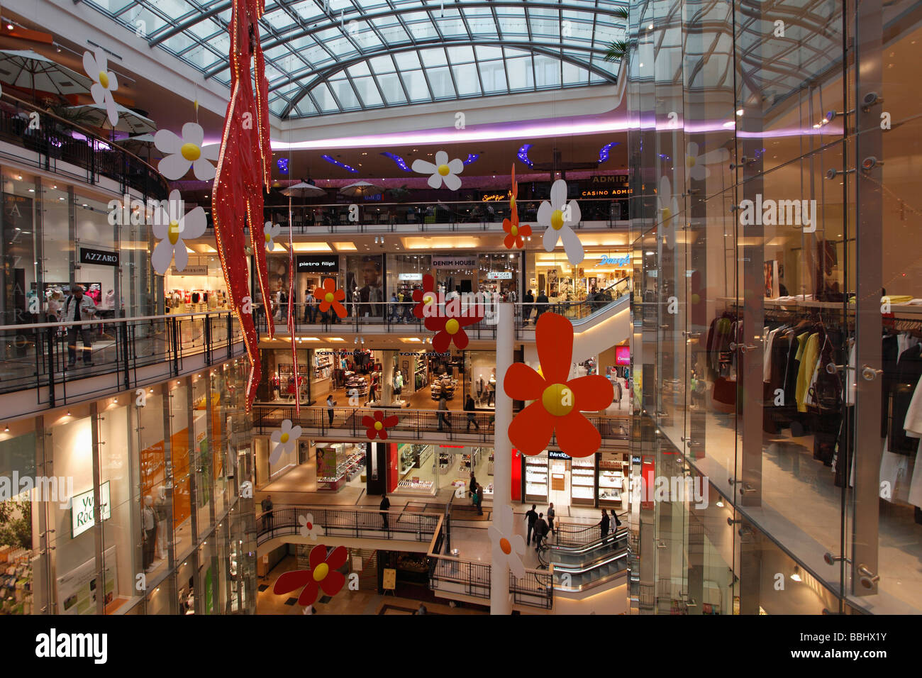 Czech Republic Prague Palladium Shopping Centre - Stock Image