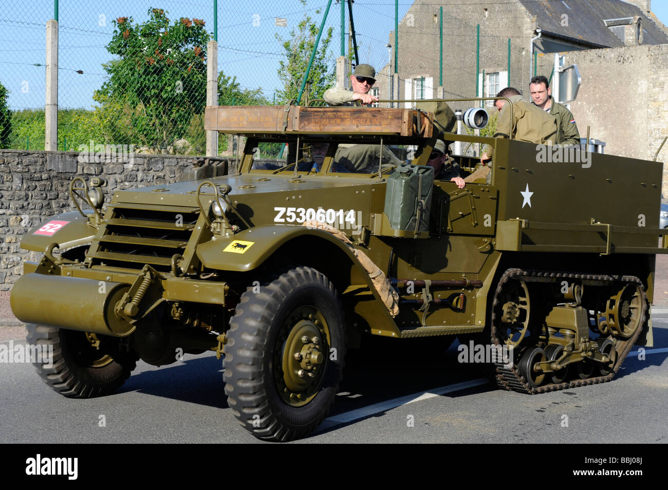 D Day US Military Half track near Arromanches Calvados