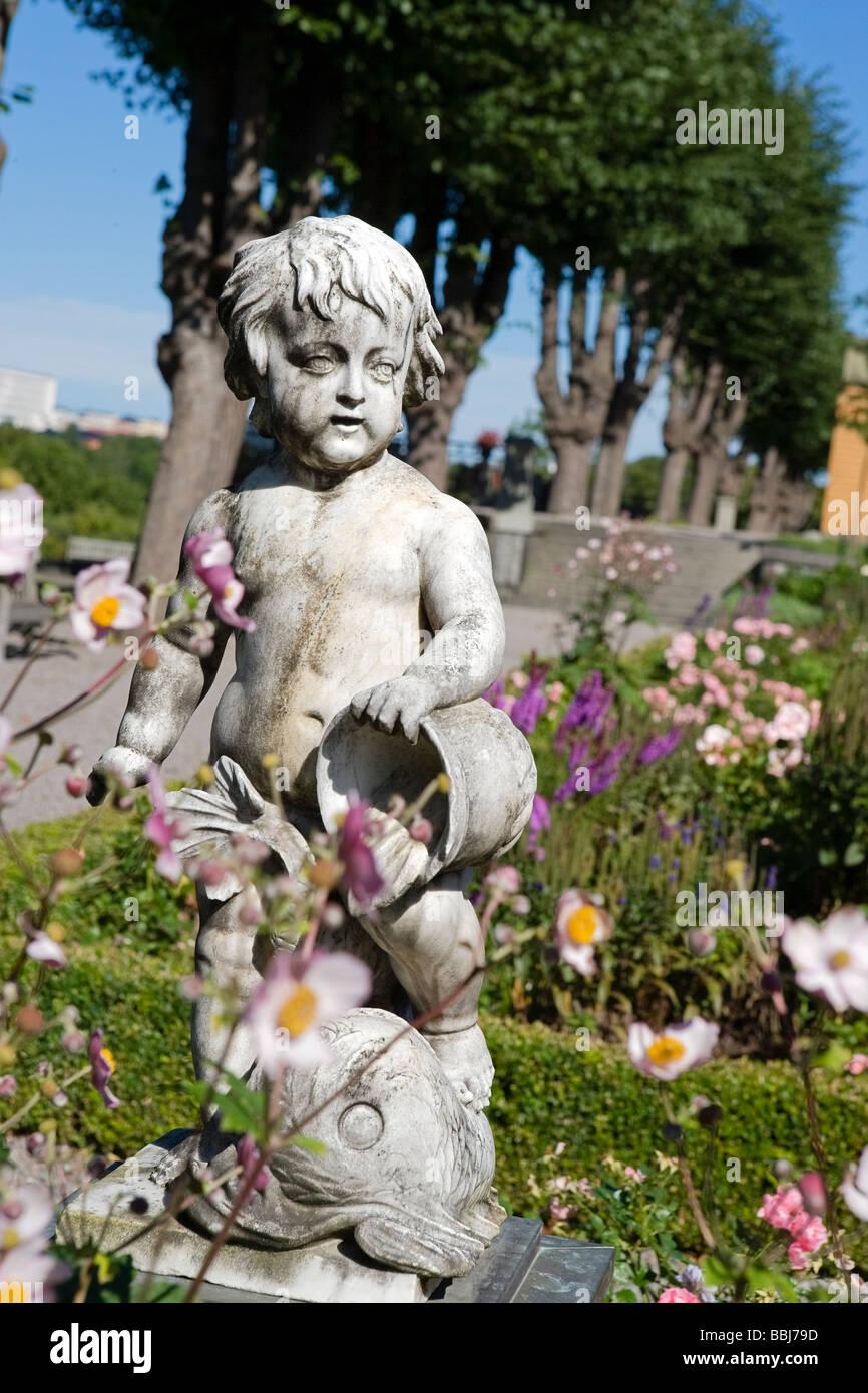 Rose Garden (Skansen) - Stock Image
