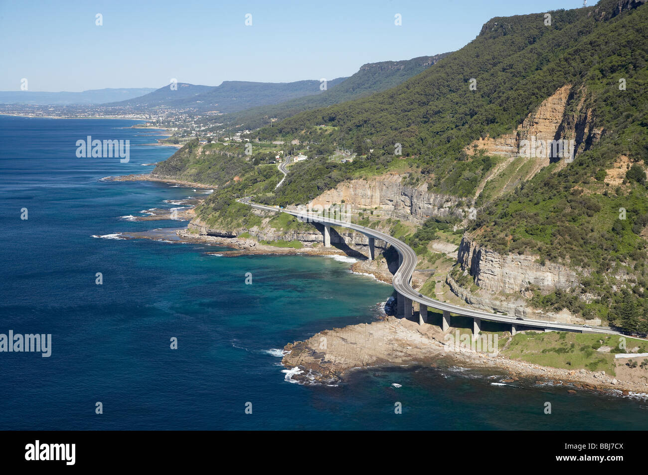 Sea Cliff Bridge Near Wollongong South Of Sydney New South Wales Stock Photo 24372570 Alamy