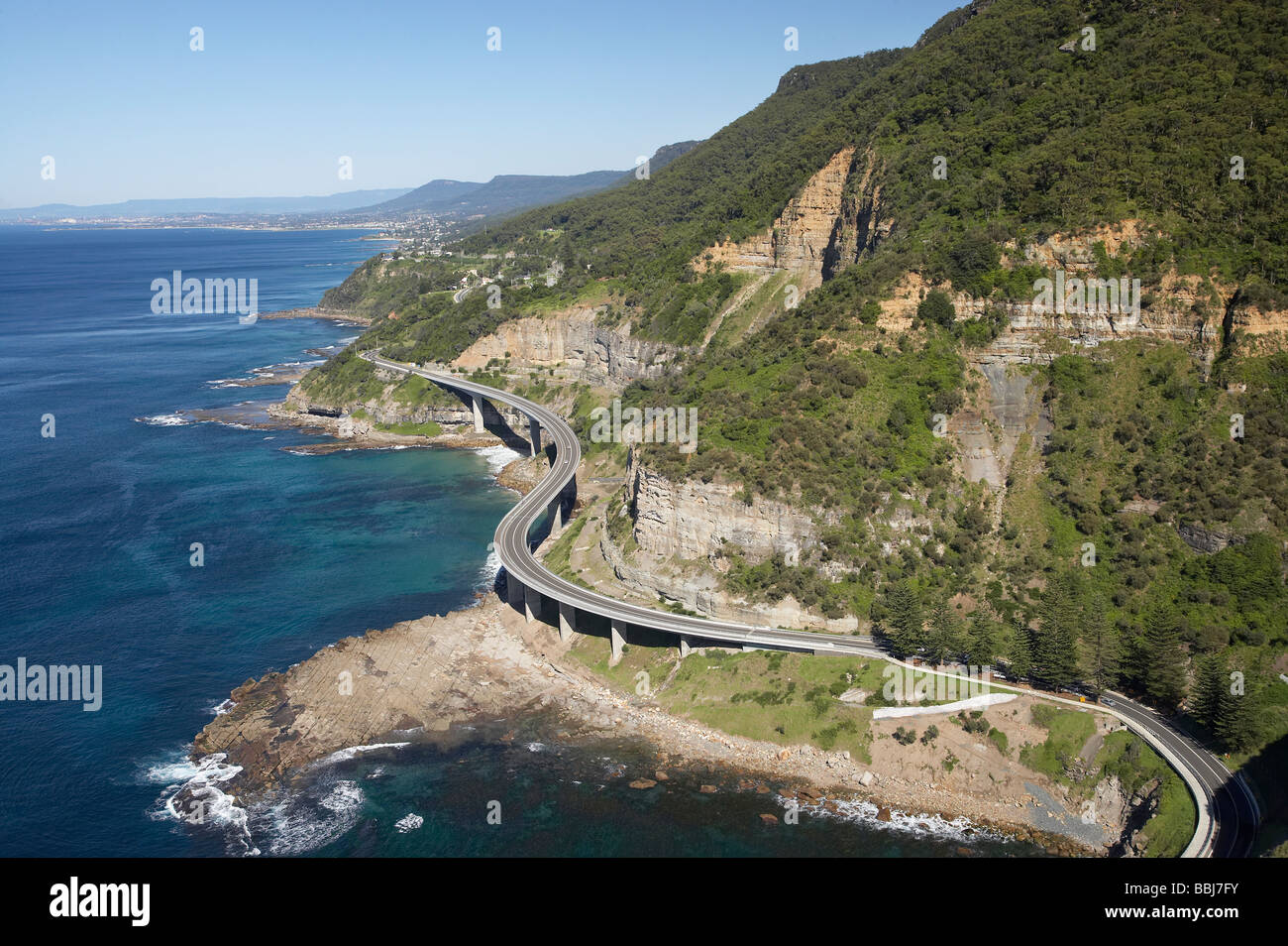 Sea Cliff Bridge Near Wollongong South Of Sydney New South Wales Stock Photo 24372655 Alamy