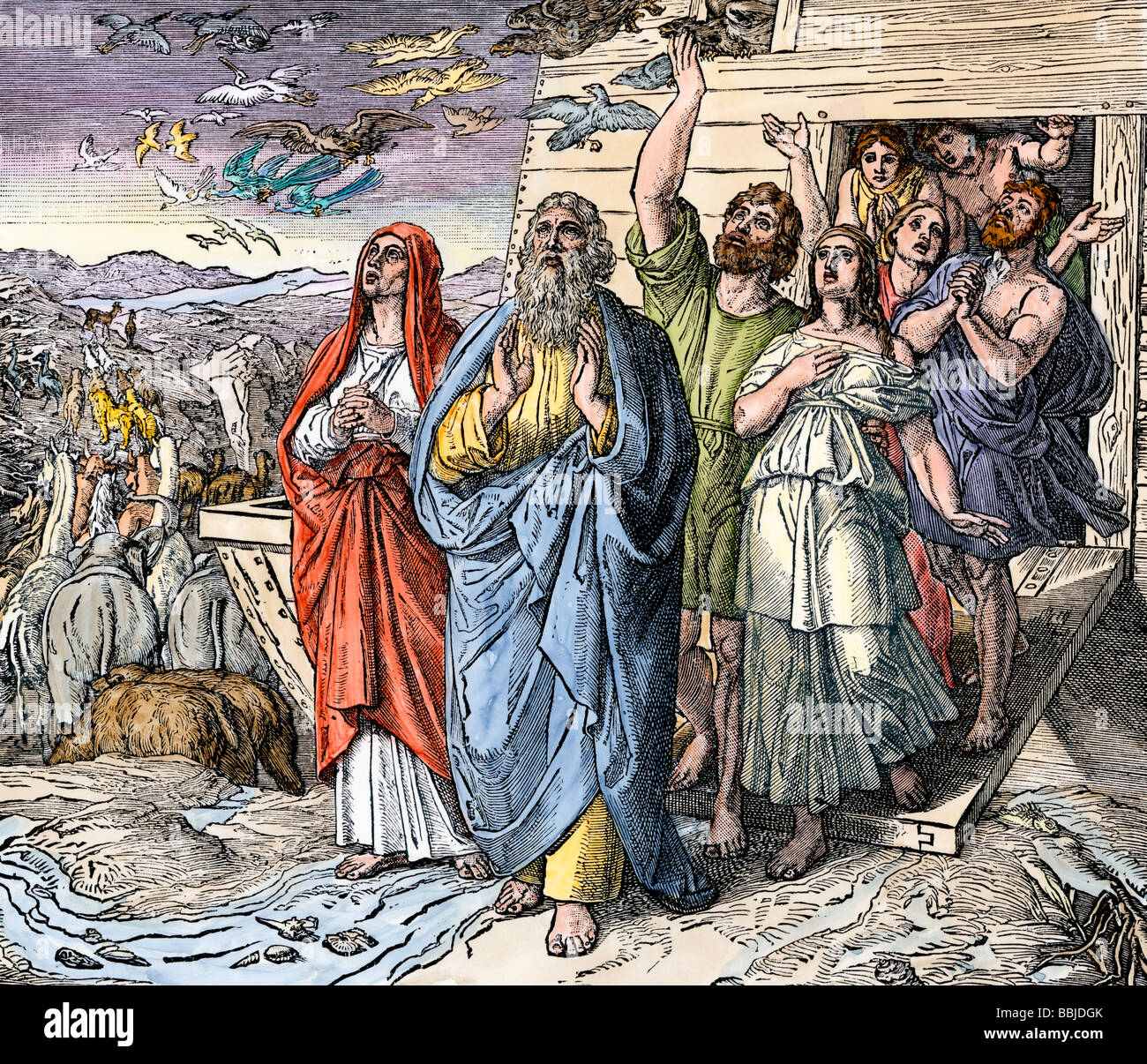 an analysis of the origin of noahs flood in the bible Problems with a global flood second edition  according to the bible, noah took samples of all animals alive at the time of the flood  noah: the person and the.