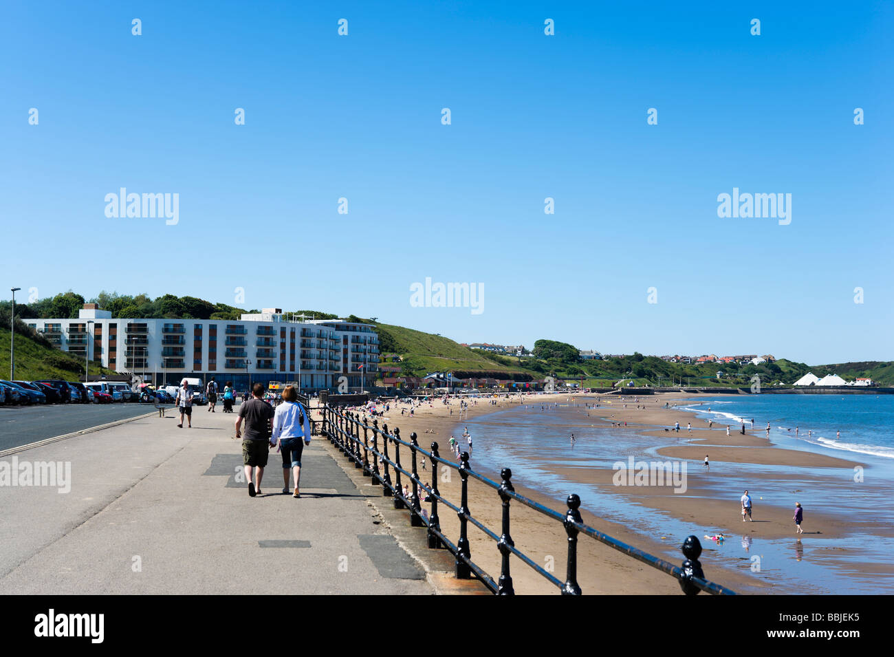 North Bay beach, Scarborough, East Coast, North Yorkshire, England - Stock Image