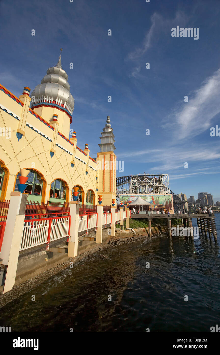 Luna Park Sydney New South Wales Australia - Stock Image