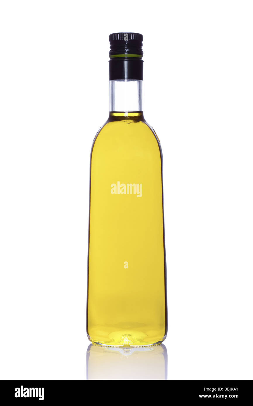 Bottle Of Portuguese Extra Virgin Olive Oil Isolated On