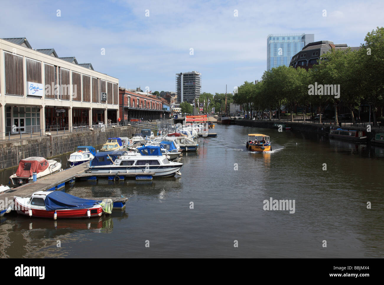 Bristol Harbourside, England - Stock Image