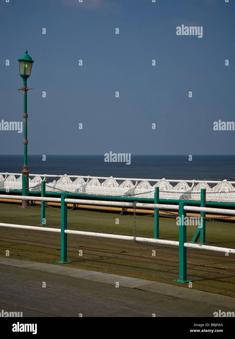 Blackpool Northshore Pier - Stock Image