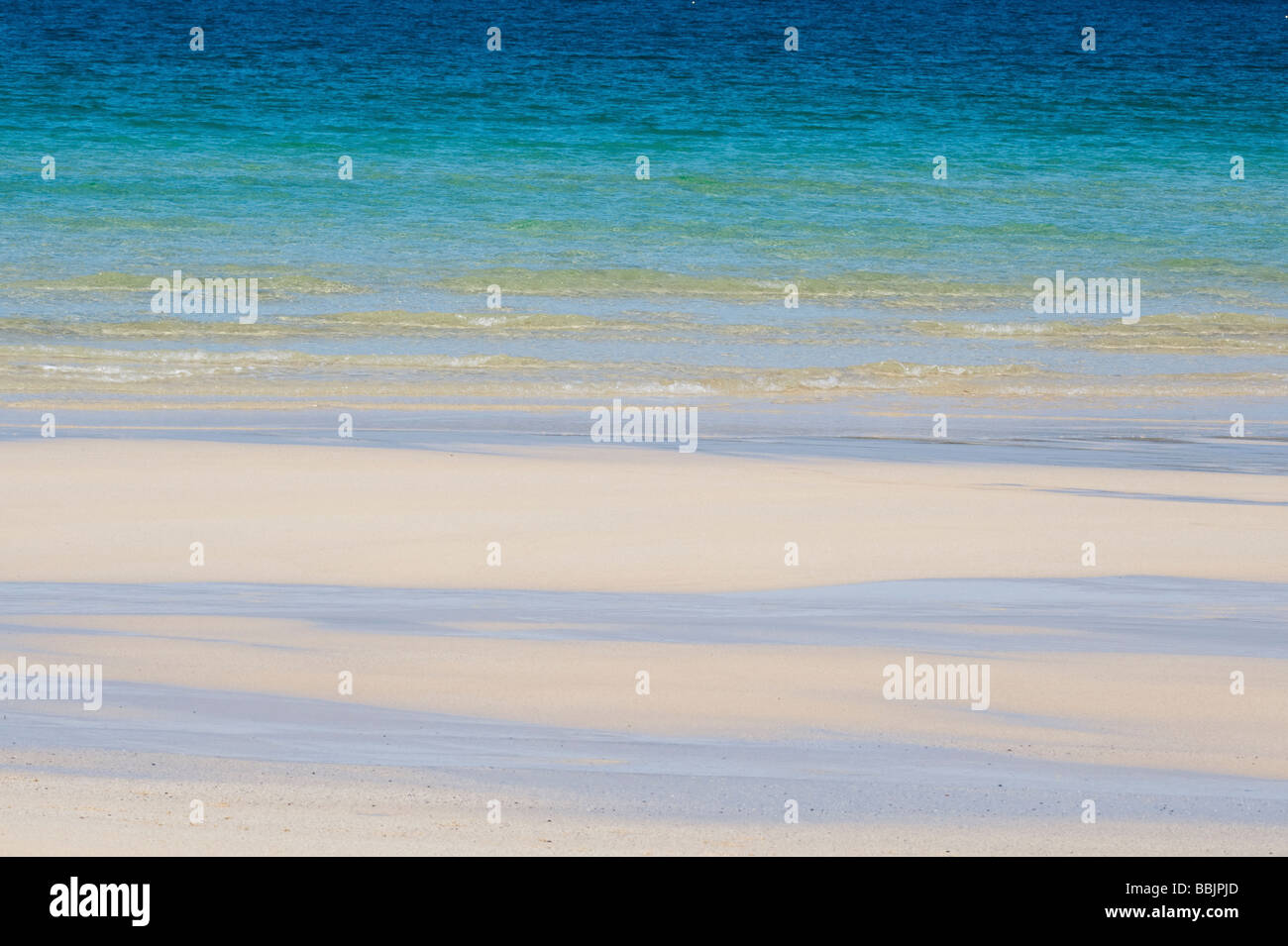 Traigh Scarista beach, Isle of Harris, Outer Hebrides, Scotland - Stock Image