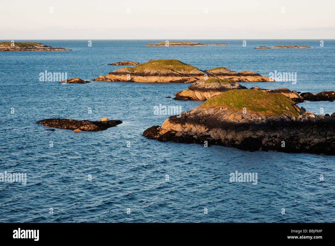 East Coast islands, Isle of Harris, Outer Hebrides, Scotland - Stock Image