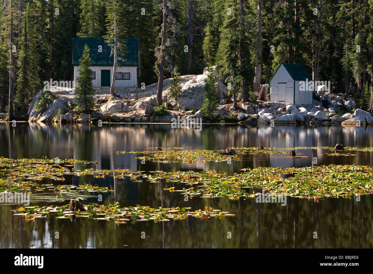 Small cabins near mosquito lake alpine county california