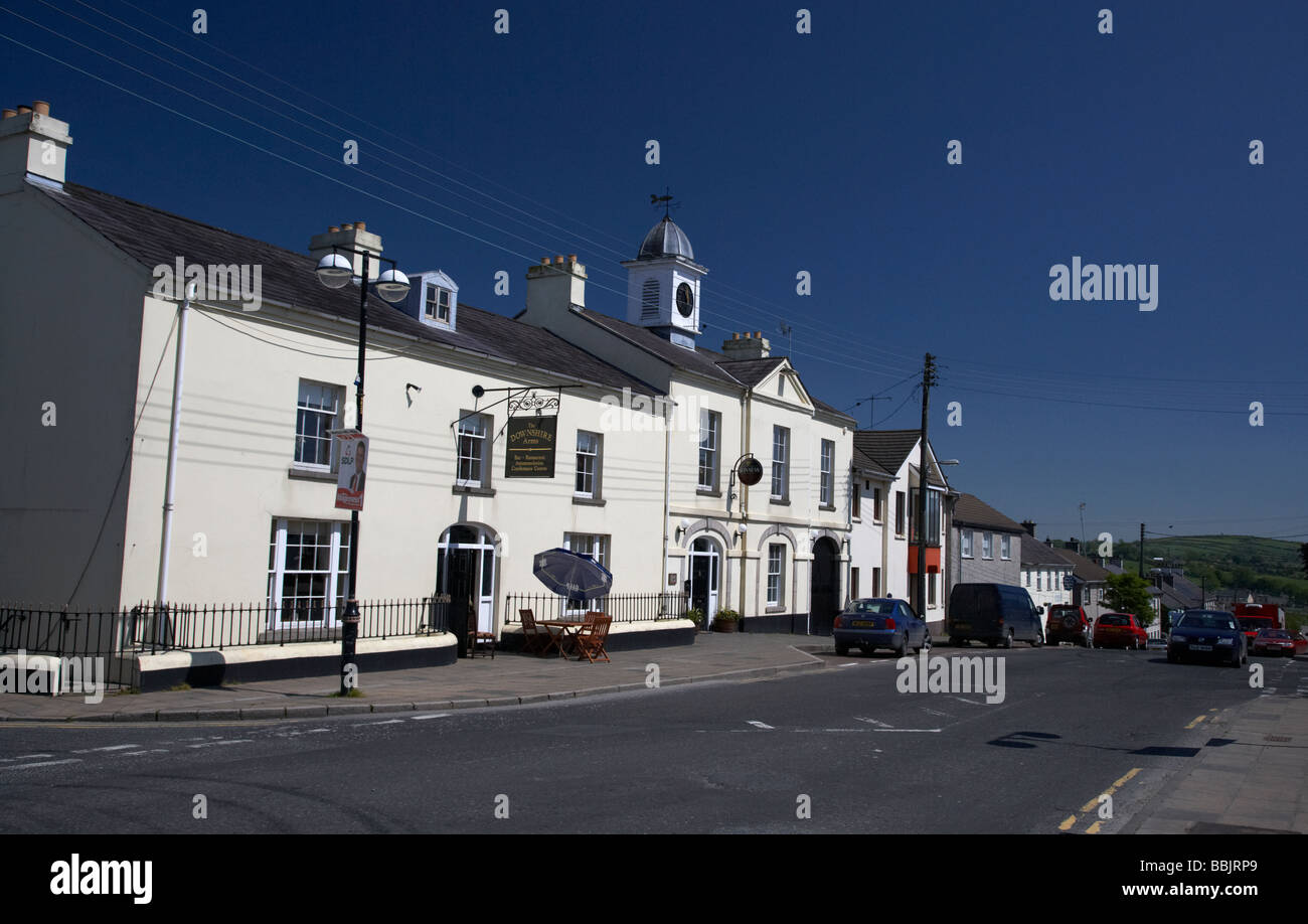 downshire arms bar and hotel in hilltown county down northern ireland uk - Stock Image