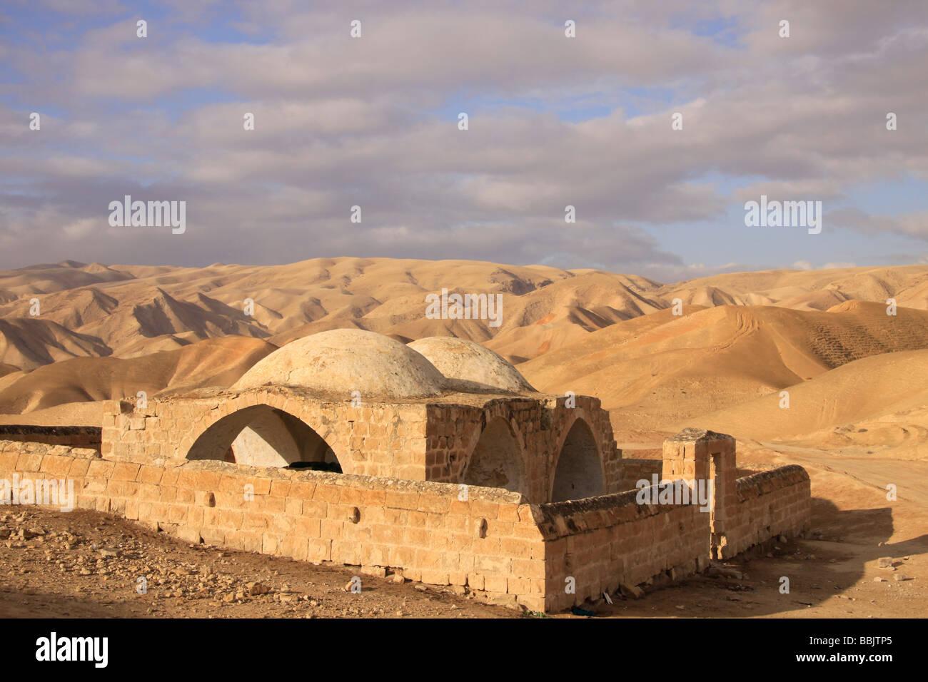 Maqam Hasan al Rai near Nabi Musa - Stock Image