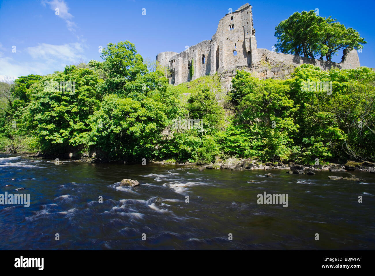 Barnard Castle Teesdale County Durham - Stock Image