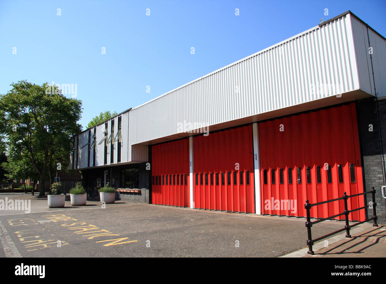 Norbury Fire Station London Road Norbury SW16 - Stock Image