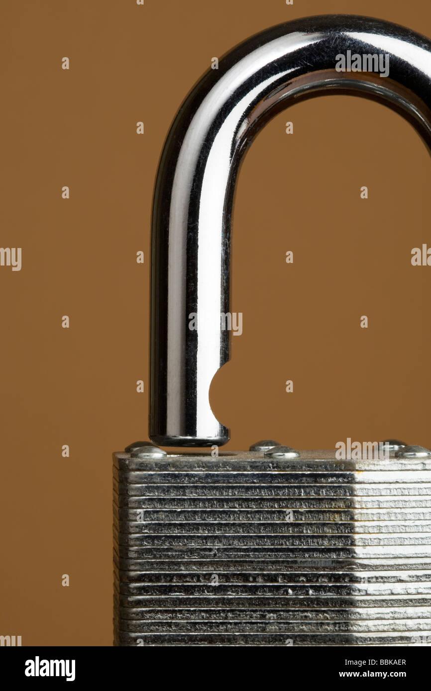 A close up of a padlock - Stock Image