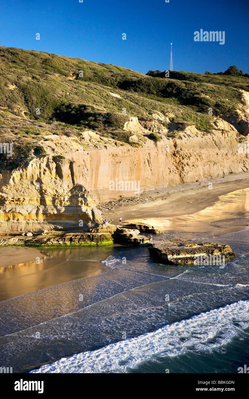 Torrey Pines State Preserve San Diego County La Jolla California - Stock Image