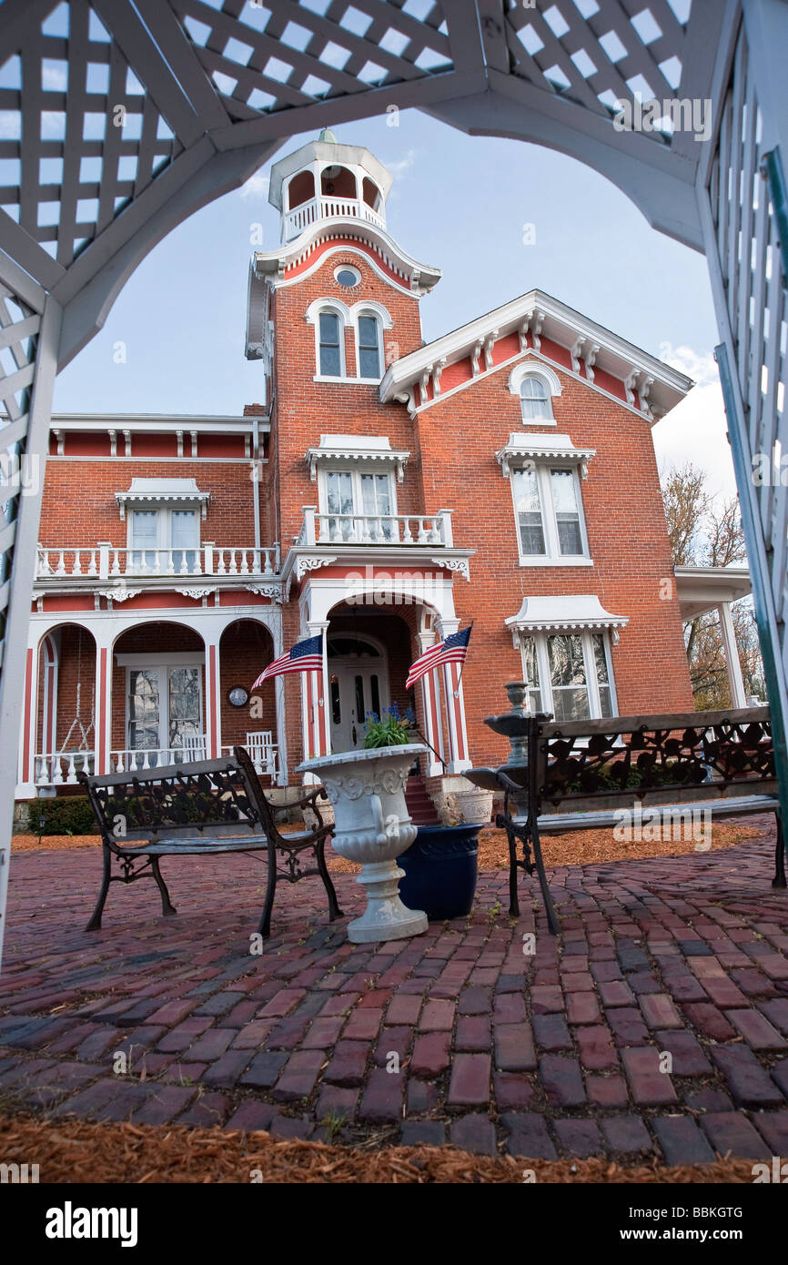 Historic Stillman Inn In Historic Galena Illinois Now A Bed And