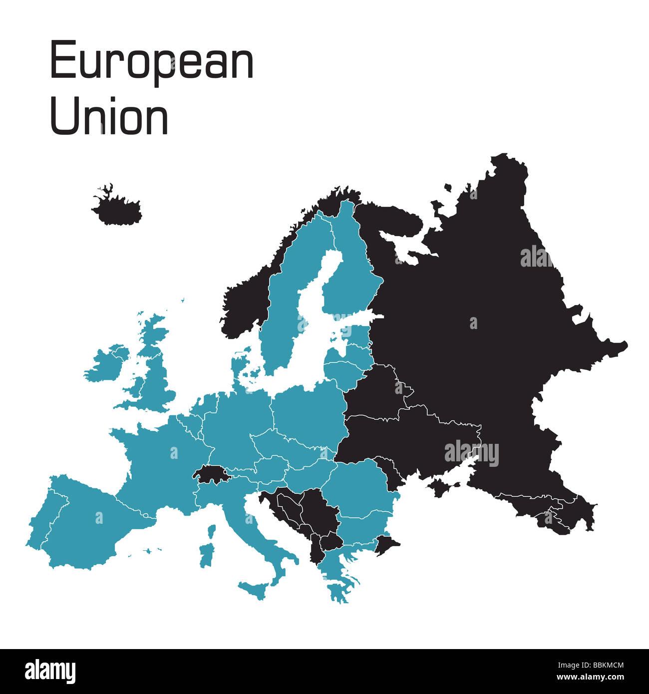 European Union Map Stock Photos & European Union Map Stock Images ...
