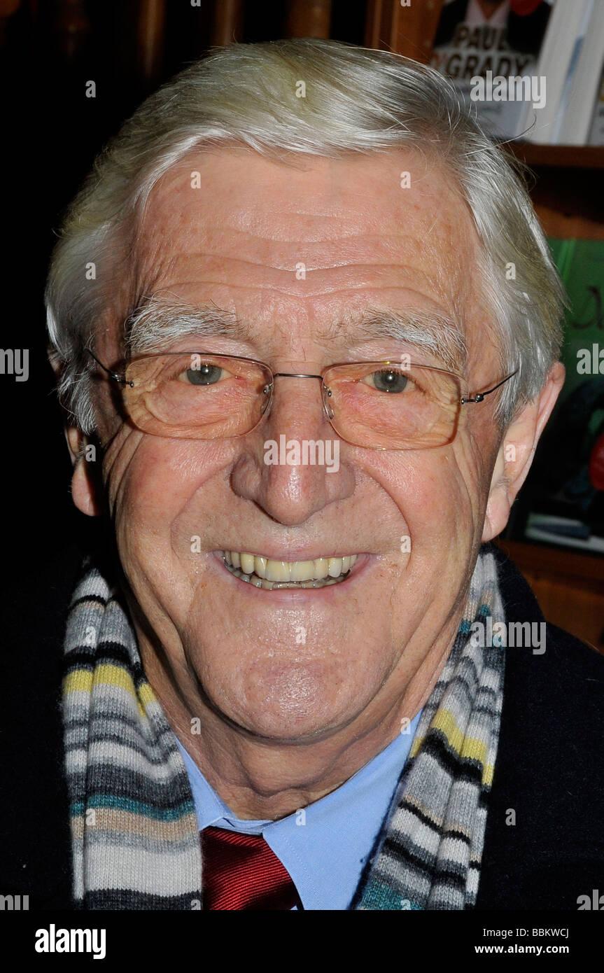 MICHAEL PARKINSON  UK TV presenter in November 2008 - Stock Image