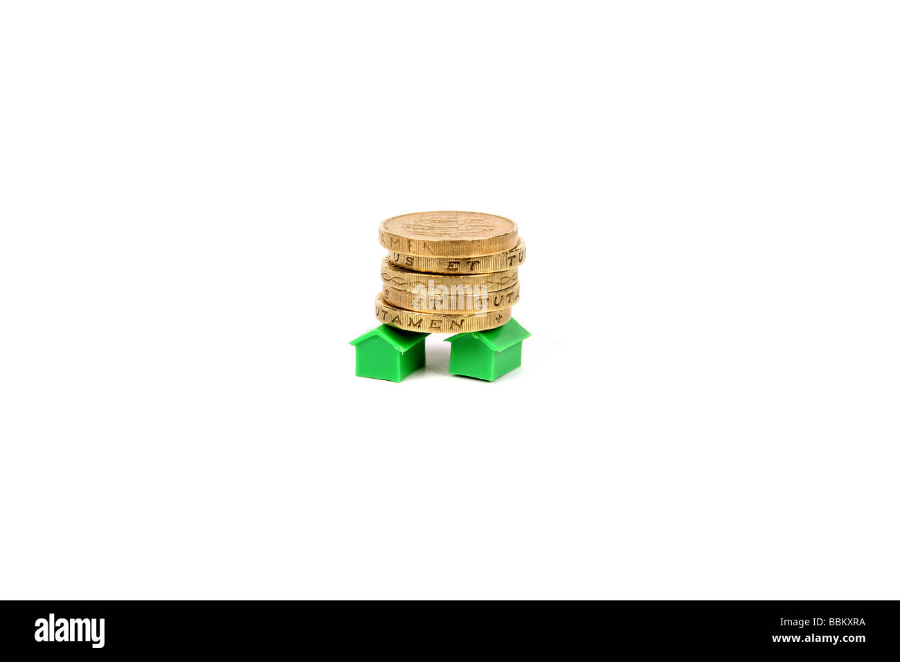 Money market home value concept photo - Stock Image