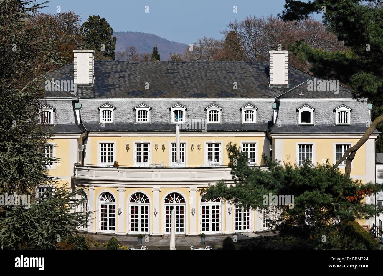 La Redoute, historical ball- and theatre house, Bonn-Bad Godesberg, North Rhine-Westphalia, Germany, Europe - Stock Image
