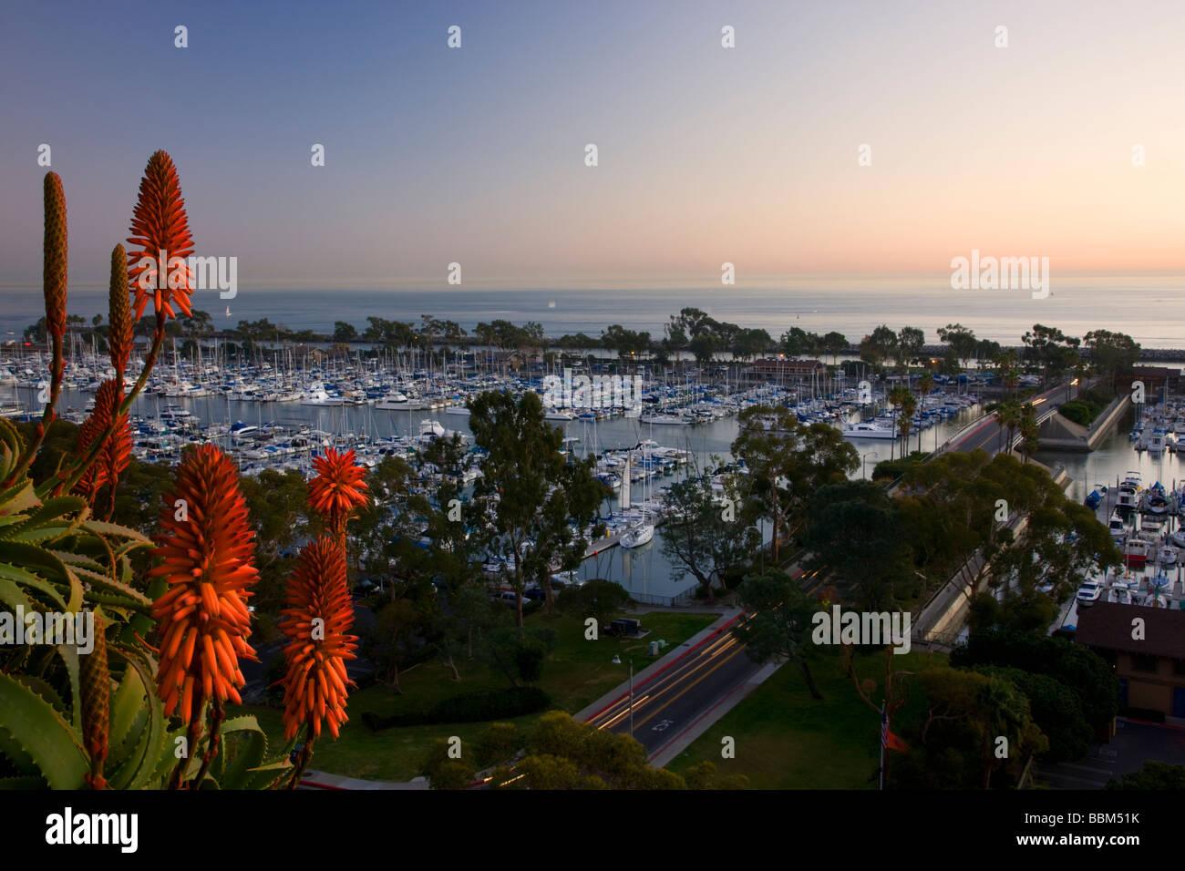 Dana Point Harbor Dana Point Orange County California - Stock Image