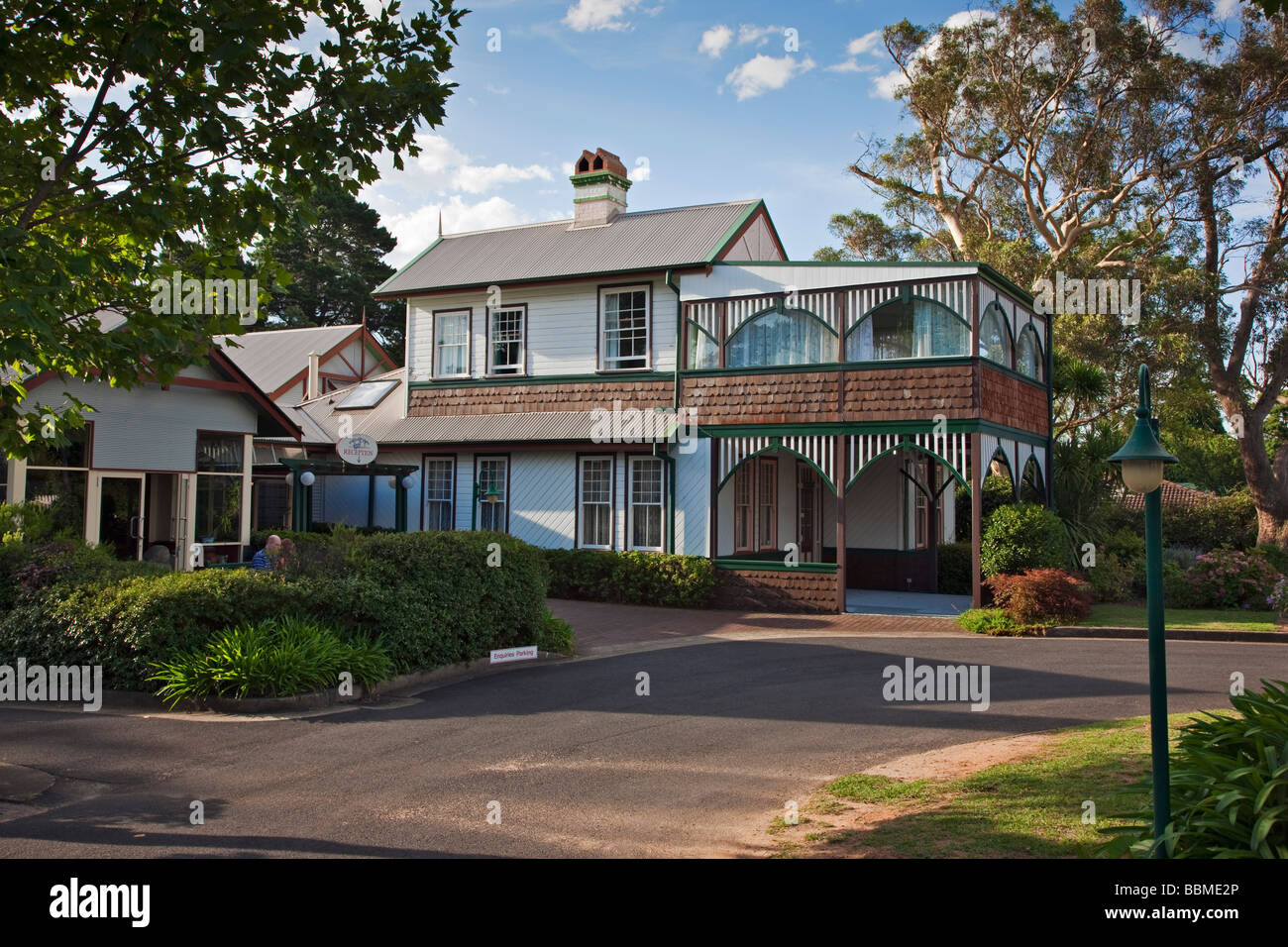 Australia New South Wales. La Maison Boutique Hotel at Katoomba in the Blue Mountains. - Stock Image